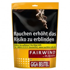 Fairwind  Volumen Tabak 109g