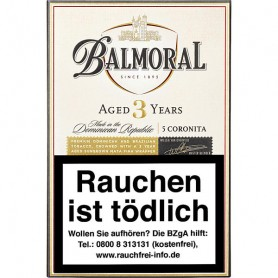 "Balmoral Aged Selection Coronita ""Aged 3 years"""