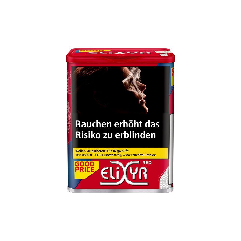 Elixyr Red Tabak in unserem Online Tabak Shop kaufen