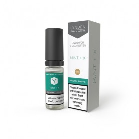 Lynden - Mint + X - 10ml (Liquid), 70/30 VG/PG