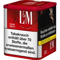 L&M Volumen Tabak Red L 70g