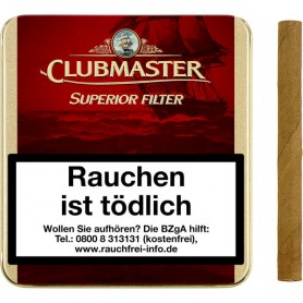 Clubmaster Superior Filter Red