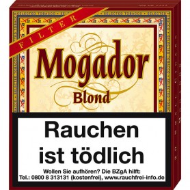 Mogador Blond Filter - Vanilla Naturdeckblatt