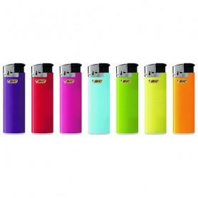 BIC Feuerzeug J38 Electronic Bicolors, kindergesichert