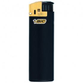 BIC Feuerzeug J38 Electronic gold, kindergesichert