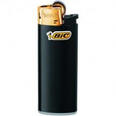 BIC Feuerzeug J25 Reibrad Mini gold, kindergesichert