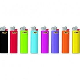 BIC Feuerzeug J23 Reibrad Slim neutral, kindergesichert