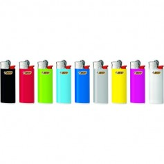 BIC Feuerzeug J25 Reibrad Mini neutral, kindergesichert