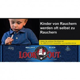Look Out Holland Black 40g - 6,90 €