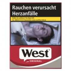West Red Zigaretten 4x 40er