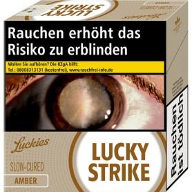 Lucky Strike Amber Jumbo 6 x 50er