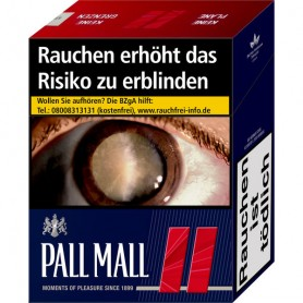 Pall Mall Red Super 5 x 40er