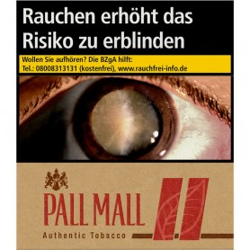 Pall Mall Authentic Red Giga (8 x 33er) Zigaretten