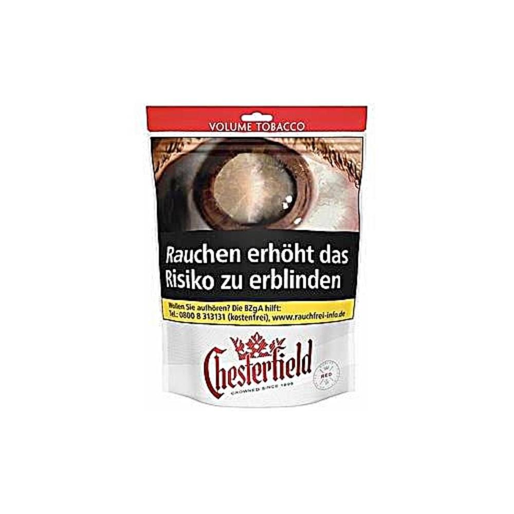 Chesterfield Red Volume Tabak 170g Beutel Online Günstig Kaufen