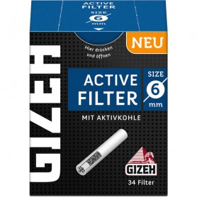 GIZEH Black Active Filter 6mm 1x34