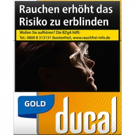 Ducal Gold Zigaretten BP - 52,00 €