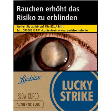 Lucky Strike Authentic Blue XXL (8 x 23er) Zigaretten