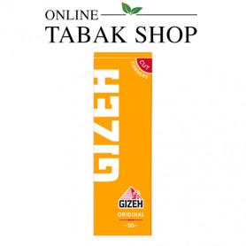 GIZEH Original (gelb) 50er Blättchen (Single Pack) - 0,39 €