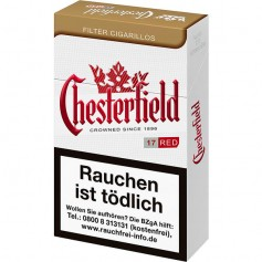 Chesterfield Red King Size Filter Cigarillos (10 x 17er)
