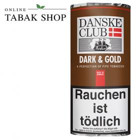 Danske Club Dark & Gold Pfeifentabak 50g Pouch - 9,50€