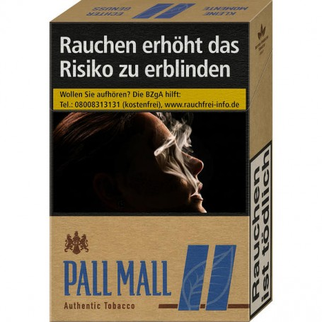 Pall Mall Authentic Blue OP