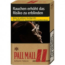 Pall Mall Authentic Red OP