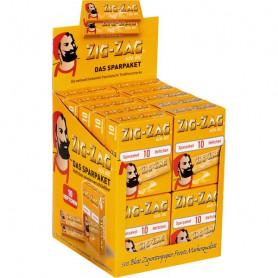 20 x 10 ZIG ZAG gelb Sparpaket 1
