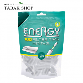 Energy+ (Elixyr+) Menthol Filter Tips 6mm (Beutel à 100 Stück)