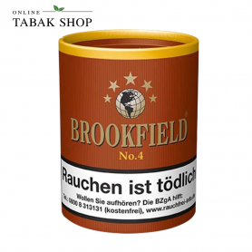 Brookfield No.4 Black Bourbon Pfeifentabak Dose (1x 200g) - 22,80€