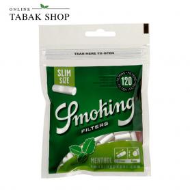 Smoking Menthol Slim Filter (6mm) 120er - 2,26€