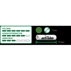 ActiTube Aktivkohlefilter 10er, Slim 7.0 mm Ø 2 - 2,40€