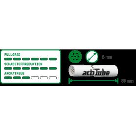 ActiTube Aktivkohlefilter, Regular 8mmØ 10er - 1,59€