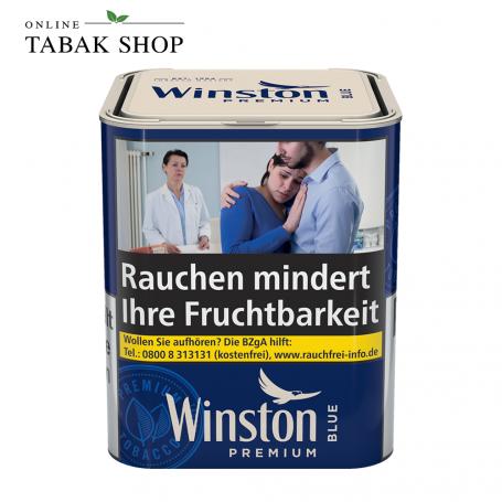 Winston Zigaretten Tabak Blue Classic M 90g