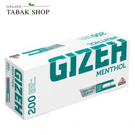 GIZEH Menthol Hülsen (1x 200)