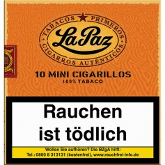 La Paz Mini Cigarillos 1x 10er