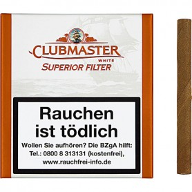 Clubmaster Superior Filter White Zigarren